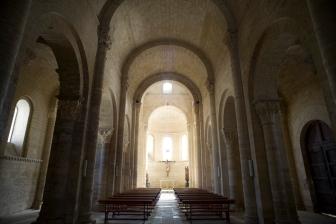 San Martin de Tours of Fromista Church interior