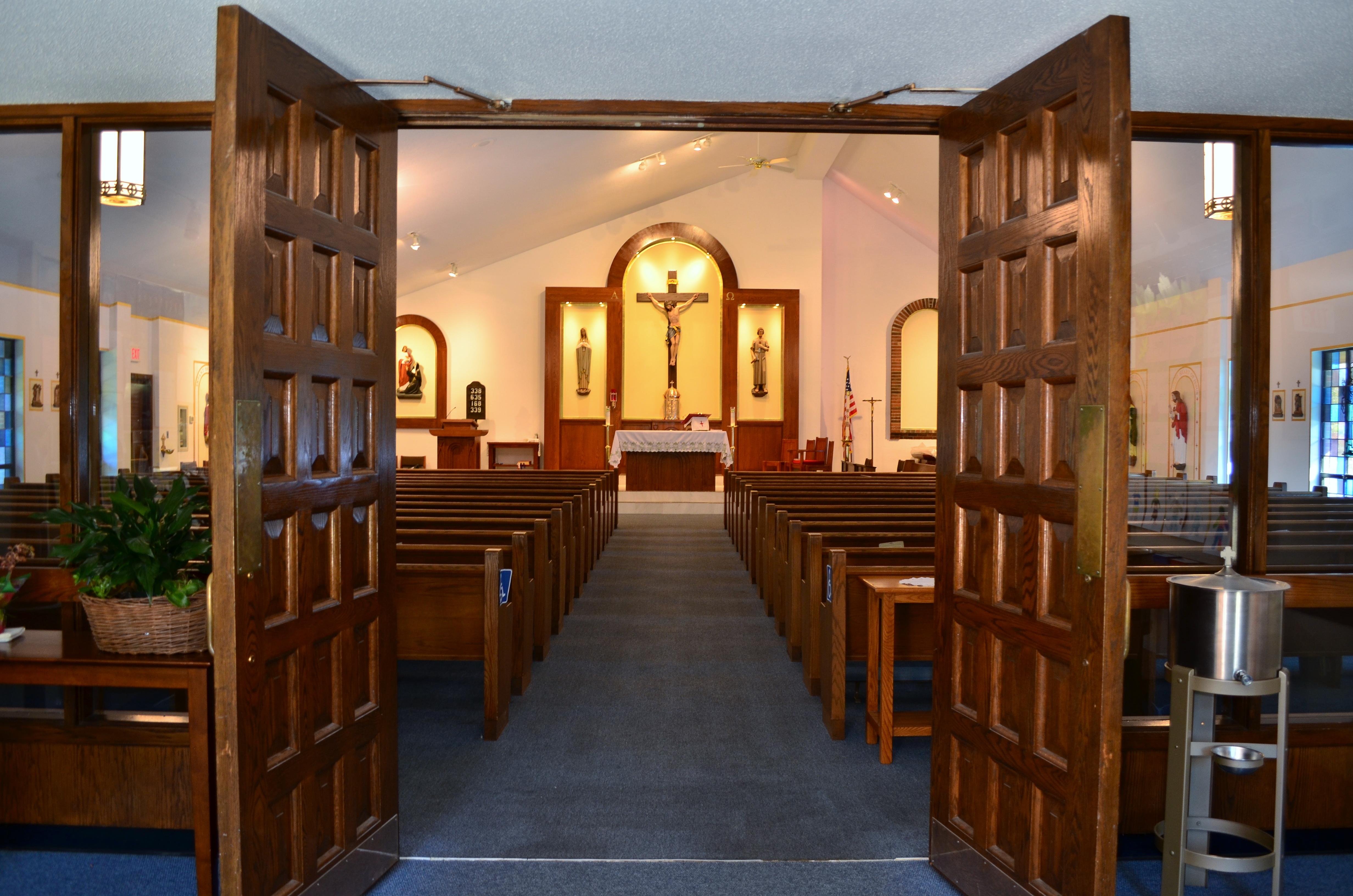 Interior of Saint Margaret Mary Church, Shelton