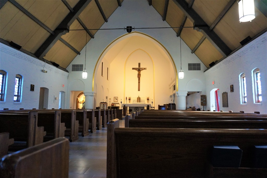 Interior of Our Lady of Peace Church, Stratford, CT