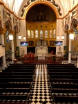 Interior of Church of Saint Cecilia, New York, New York